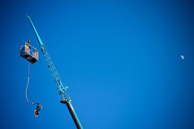 sporty ekstremalne skok na bungee