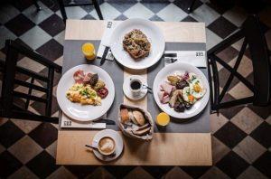 Restauracje w Gdańsku Pomelo Bistro śniadanie dla 2 osób